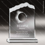 Acrylic Clear Sun Eclipse Trophy Award Employee Trophy Awards