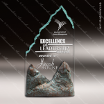 Acrylic Stone Accented Summit Pyrenees Trophy Award Employee Trophy Awards