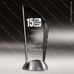 Acrylic Metal Accented Peak Stylus Trophy Award Employee Trophy Awards