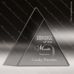 Acrylic Clear Triad Triangle Trophy Award Employee Trophy Awards