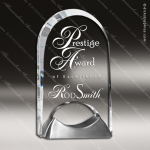 Acrylic Metal Accented Arch Keystone Trophy Award Employee Trophy Awards