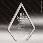 Acrylic  Clear Beveled Diamond Award Employee Trophy Awards