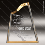 Acrylic Gold Accented Symphony Award Employee Trophy Awards