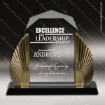 Acrylic Gold Accented Phoenix Diamond Award Employee Trophy Awards