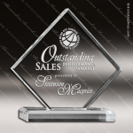 Acrylic  Clear Diamond Award Employee Trophy Awards