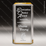 Acrylic Gold Accented Rectangle Lexus Award Employee Trophy Awards