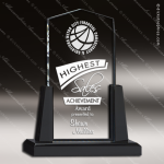 Acrylic Black Accented Spire Award Employee Trophy Awards
