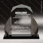 Acrylic Black Accented Phoenix Diamond Award Employee Trophy Awards