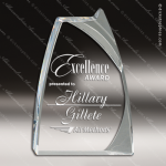 Acrylic  Clear Triumph Award Employee Trophy Awards