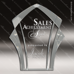 Acrylic  Clear Panache Award Employee Trophy Awards
