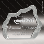 Acrylic  Clear Iceberg Award Employee Trophy Awards