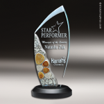 Glass Mosaic Award Large Employee Trophy Awards
