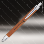 Engraved Leather Wrapped Rawhide Pen Engraved Leather Wrapped Writing Pens