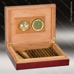 Rosewood Piano Finish Humidor Engraved Misc Gift Boxes