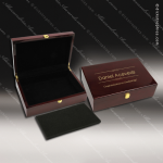 Engravable Gift Rosewood Award Presentaion Box - Premium High Gloss Finish Engraved Misc Gift Boxes