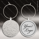 Engraved Etched Wine Glass Charm Gift Award Engraved Wine Stoppers