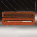 Engraved Wood Rosewood Pen Case Engraved Wood Pen Cases