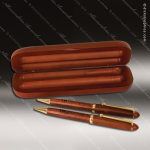 Engraved Wood Rosewood Pen, Pencil & Case Set Engraved Wood Pen Cases