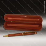 Engraved Wood Rosewood Pen & Case Set Engraved Wood Pen Cases