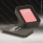 Laser Engraved Zippo Style Lighter Matte Pink Metal Gift Box Award Engraved Zippo Lighters