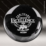 Crystal Clear Dome Paperweight Trophy Award Executive Crystal Awards