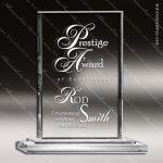 Crystal  Clear Rectangle Olympic Trophy Award Executive Crystal Awards