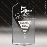 Crystal  Corporate Fan Diamond Trophy Award Fan Shaped Crystal Awards