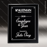 Engraved Black Piano Finish Plaque Floating Acrylic Plate Wall Placard Floating Clear Acrylic Plaques