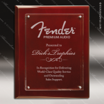 Engraved Acrylic Plaque Rosewood Piano Finish Floating PlateAward Floating Clear Acrylic Plaques