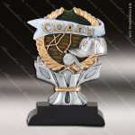 Kids Resin Impact Series Coach Trophy Awards Football Coaches Gifts & Awards