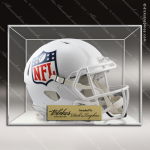 Engraved Clear Acrylic Football Helmet Display Case Football Coaches Gifts & Awards