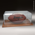 Clear Acrylic Football Display Case Football Display Case