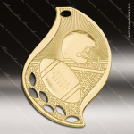 Medallion Gold Flame Series Football Medal Football Medals