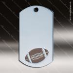 Medallion Silver Series Dog Tag Football Medal Football Medals