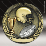 Medallion Tri-Colored Series Football Medal Football Medals