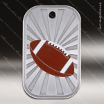 Medallion GI Series Dog Tag Football Medal Football Medals