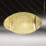 Lapel Pin - Football Metal Chenille Letter Insignia Football Trophies