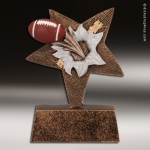 Kids Resin Star Burster Series Football Trophy Awards Football Trophies