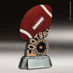 Kids Resin Swirl Series Football Trophy Awards Football Trophies