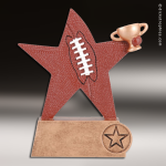 Resin Color Sports Star Series Football Trophy Award Football Trophies