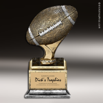Resin Antique Ball Pedestal Series Football Trophy Award Football Trophies