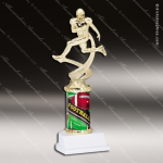 Kids   Traditional Column Series Football Boys Trophy Award Football Trophy Awards