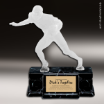 Resin Frosted Action Series Football Male Trophy Award Trophy Award Frosted Action Resin Trophy Award