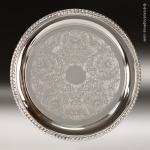 Round Chrome-Plated Tray Gift Awards
