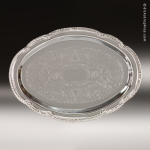 Oval Chrome-Plated Tray Gift Awards