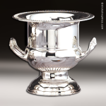 Cup Trophy Premium Silver Series Nikel Plated Wine Cooler Cup Award Gift Awards
