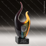 Malaysia Flame Glass Art Trophy Awards