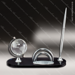 Globe Pen Set Globe Shaped Crystal Awards