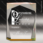 Acrylic Gold Accented Spectra Prism Trophy Award Gold Accented Acrylic Awards