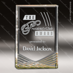 Acrylic Gold Accented Inspire Trophy Award Gold Accented Acrylic Awards